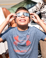 Solar eclipse at Mt. Lebanon library